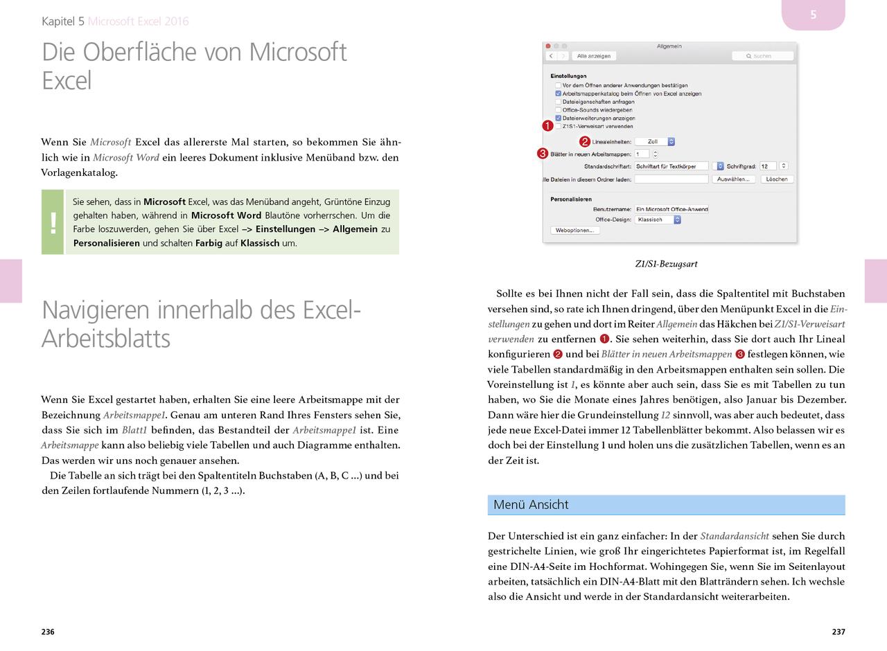 Microsoft Office 2016 für den Mac (PDF) - amac-buch Verlag
