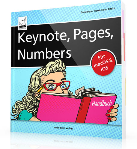 Keynote, Pages, Numbers Handbuch (Buch)
