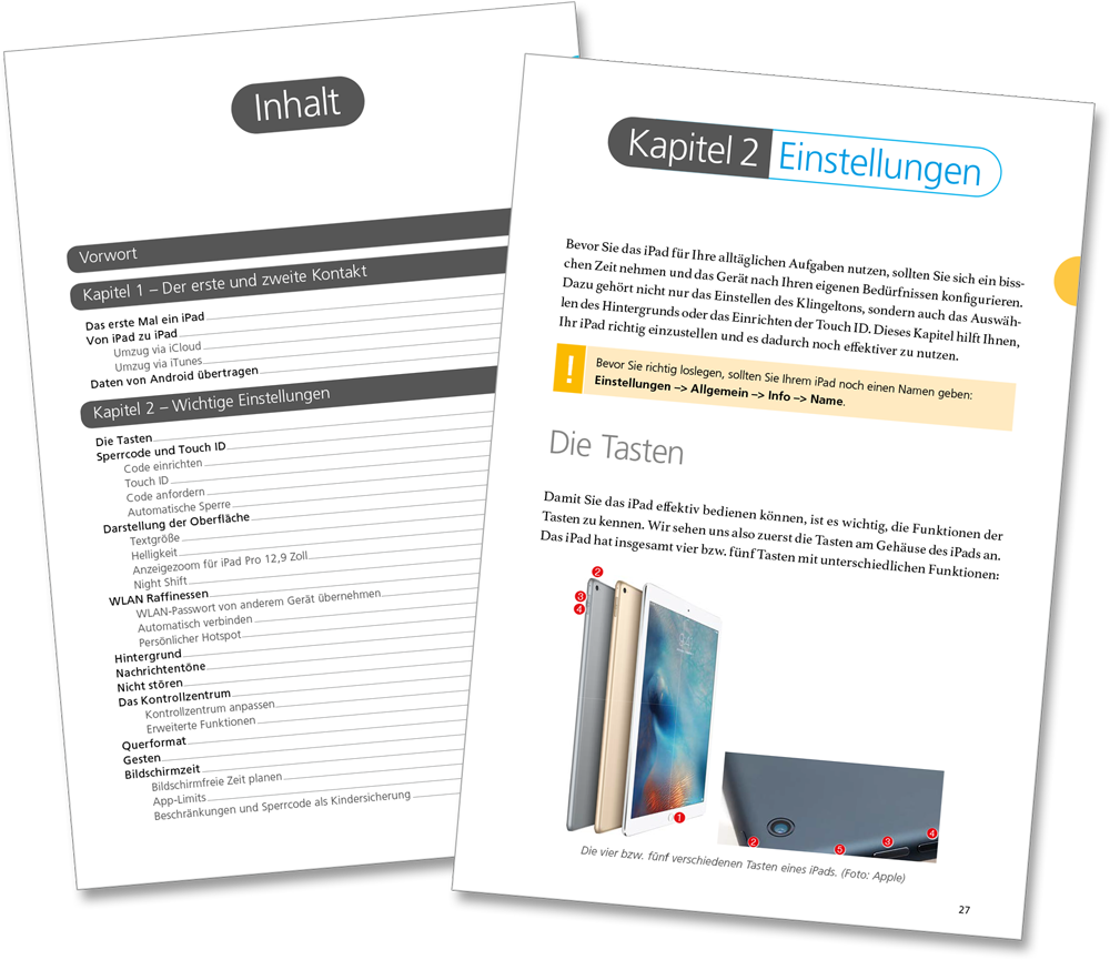 Leseprobe - iPad iOS 11 Handbuch