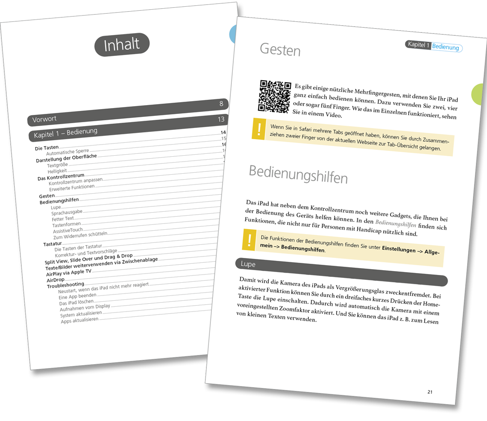 Leseprobe - iPad Lehrerhandbuch