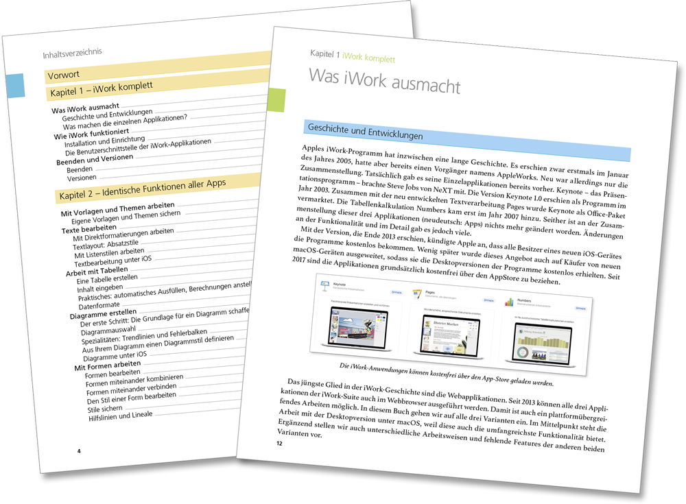 Leseprobe - Keynote, Pages, Numbers Handbuch