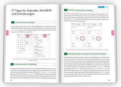 Innenseiten iOS 12 Insidertipps