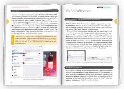 Innenseiten iPad iOS 12 Handbuch
