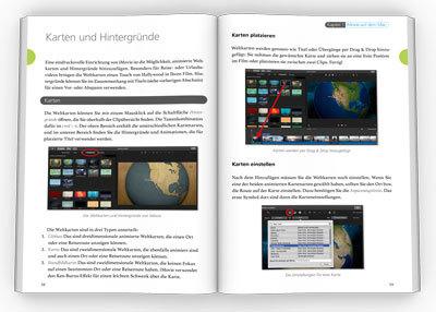 Innenseiten iMovie Handbuch