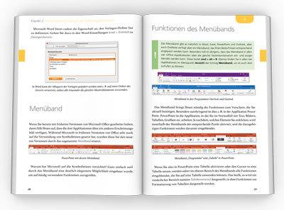 Innenseiten Microsoft Office für den Mac